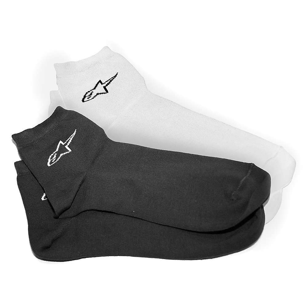 Alpine Stars Men's Star Sock 6 Pack - Large / XXL - Black