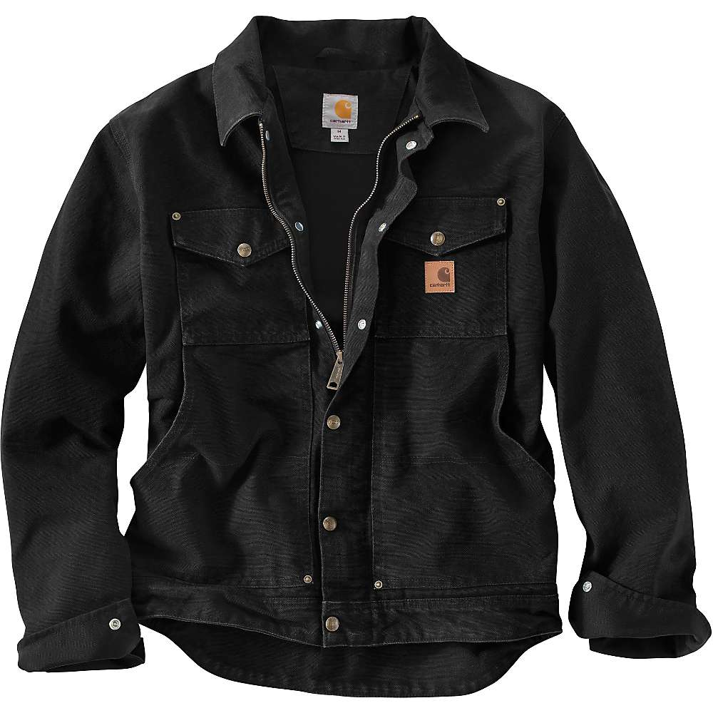 Carhartt Men's Berwick Jacket - Small Regular - Black