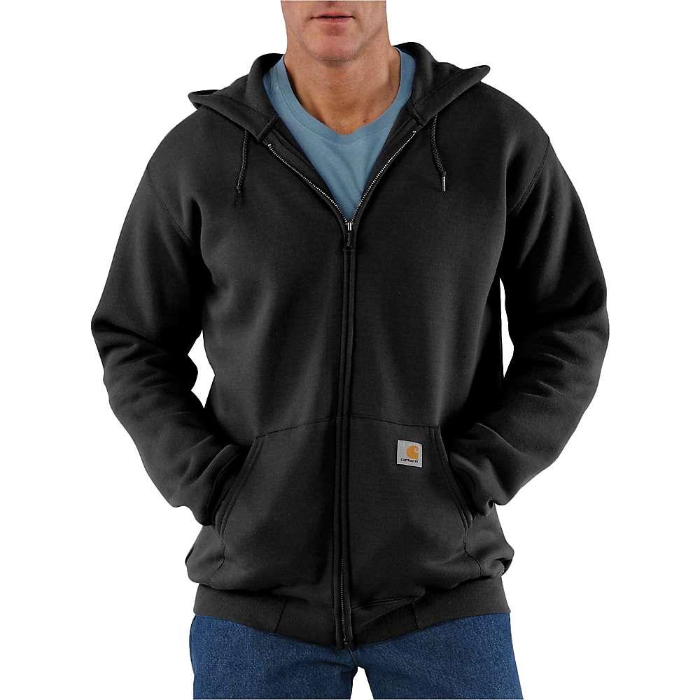 Carhartt Men's Midweight Hooded Zip Front Sweatshirt - XXL Regular - Black