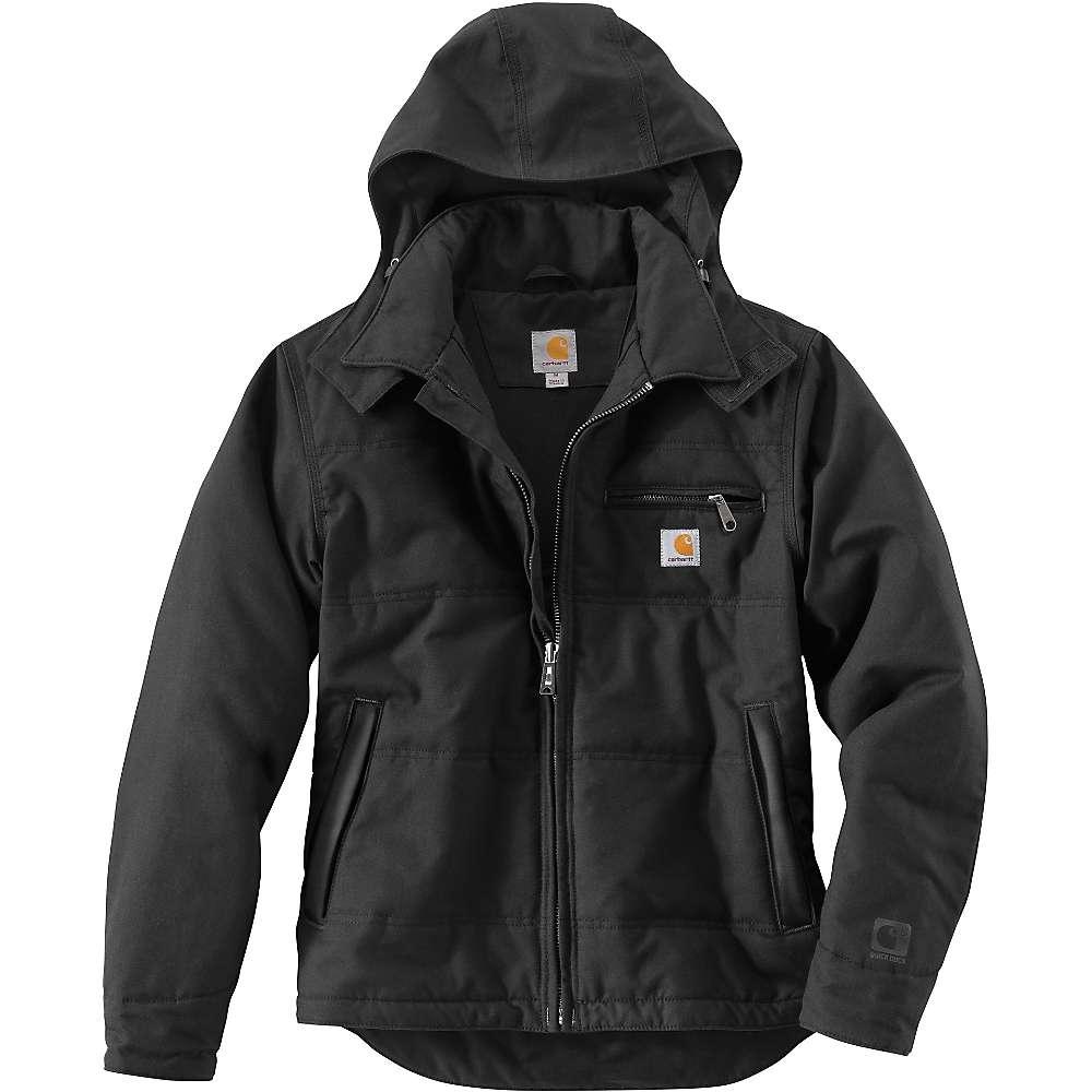 Carhartt Men's Quick Duck Livingston Jacket - Small Regular - Black