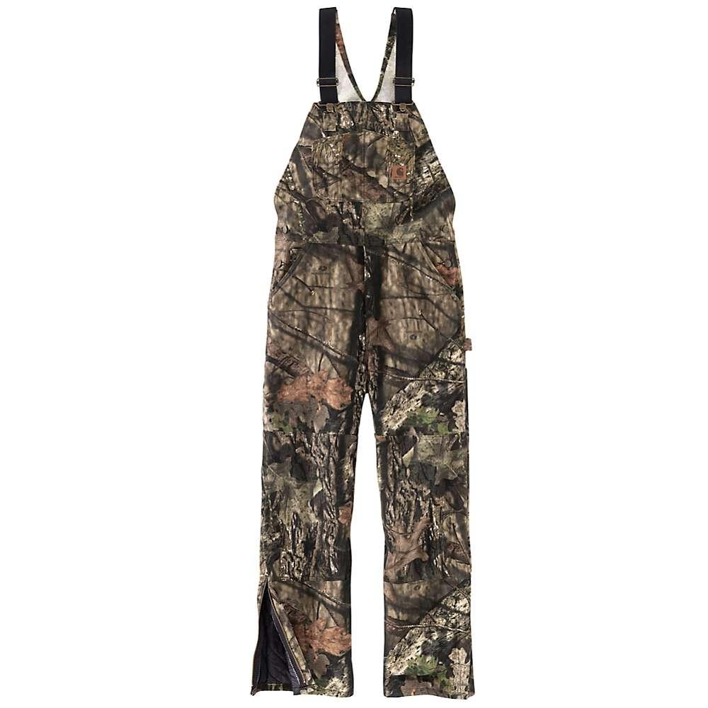 Carhartt Men's Quilt Lined Camo Overall Bib - 3XL Short - Mossy Oak Break-Up Country thumbnail