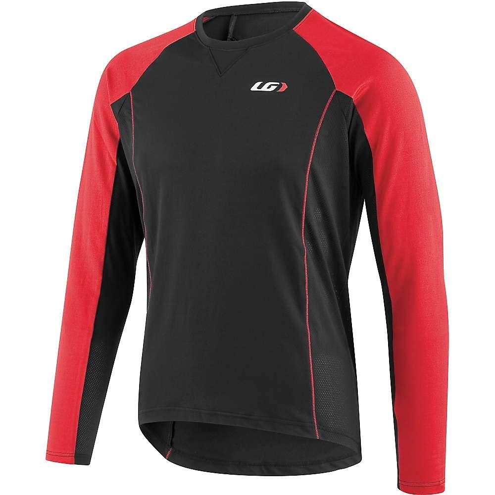 Louis Garneau Men's HTO Long Sleeve Jersey - XL - Black / Red