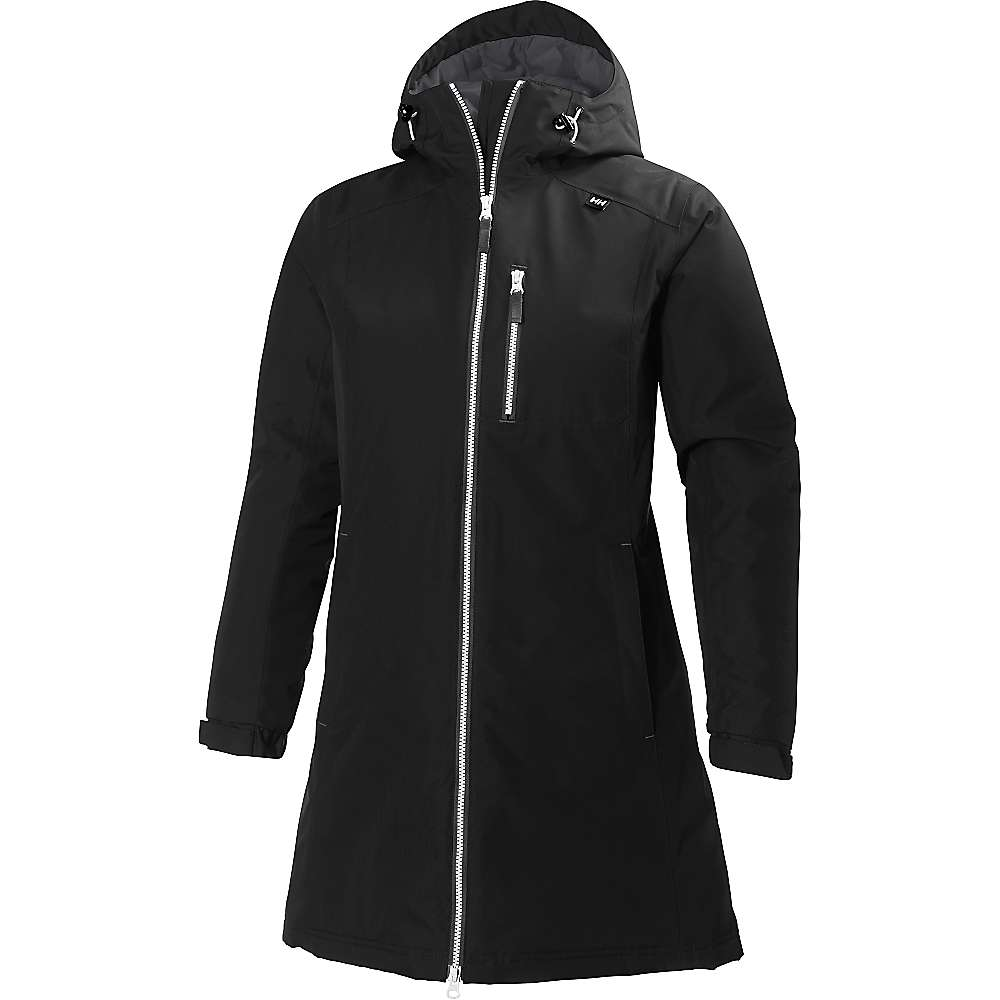 Helly Hansen Women's Long Belfast Winter Jacket - Small - Black 991