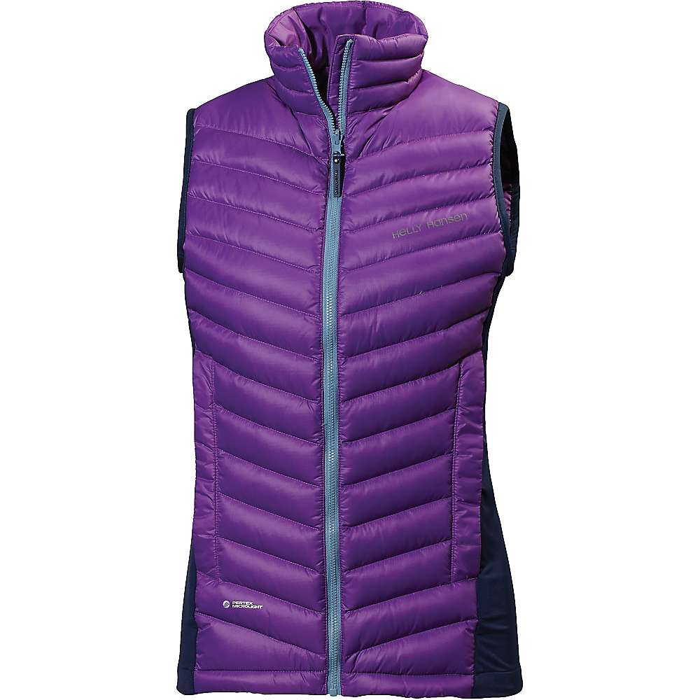 Helly Hansen Women's Verglas Down Insulator Vest - Small - Sunburned Purple