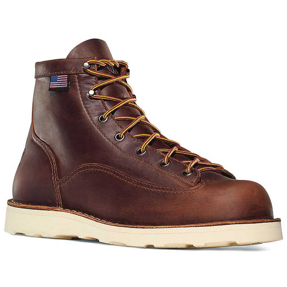 Danner Men's Bull Run 6IN Boot - 9.5D - Brown