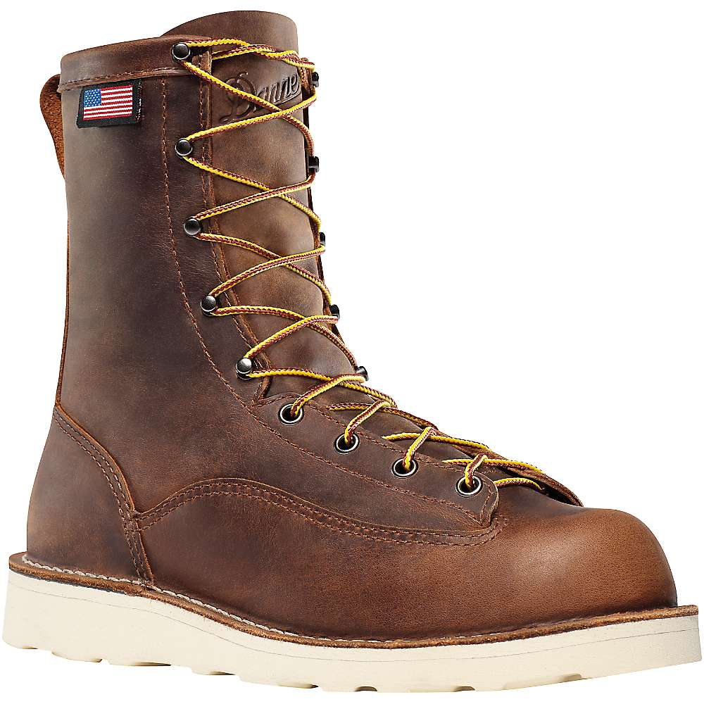 Danner Men's Bull Run 8IN Boot - 8.5EE - Brown