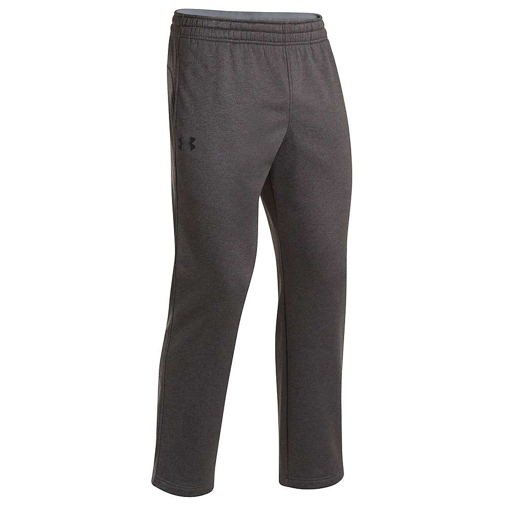 Under Armour Men's Storm Armour Fleece Pant - Medium - Carbon Heather / Black