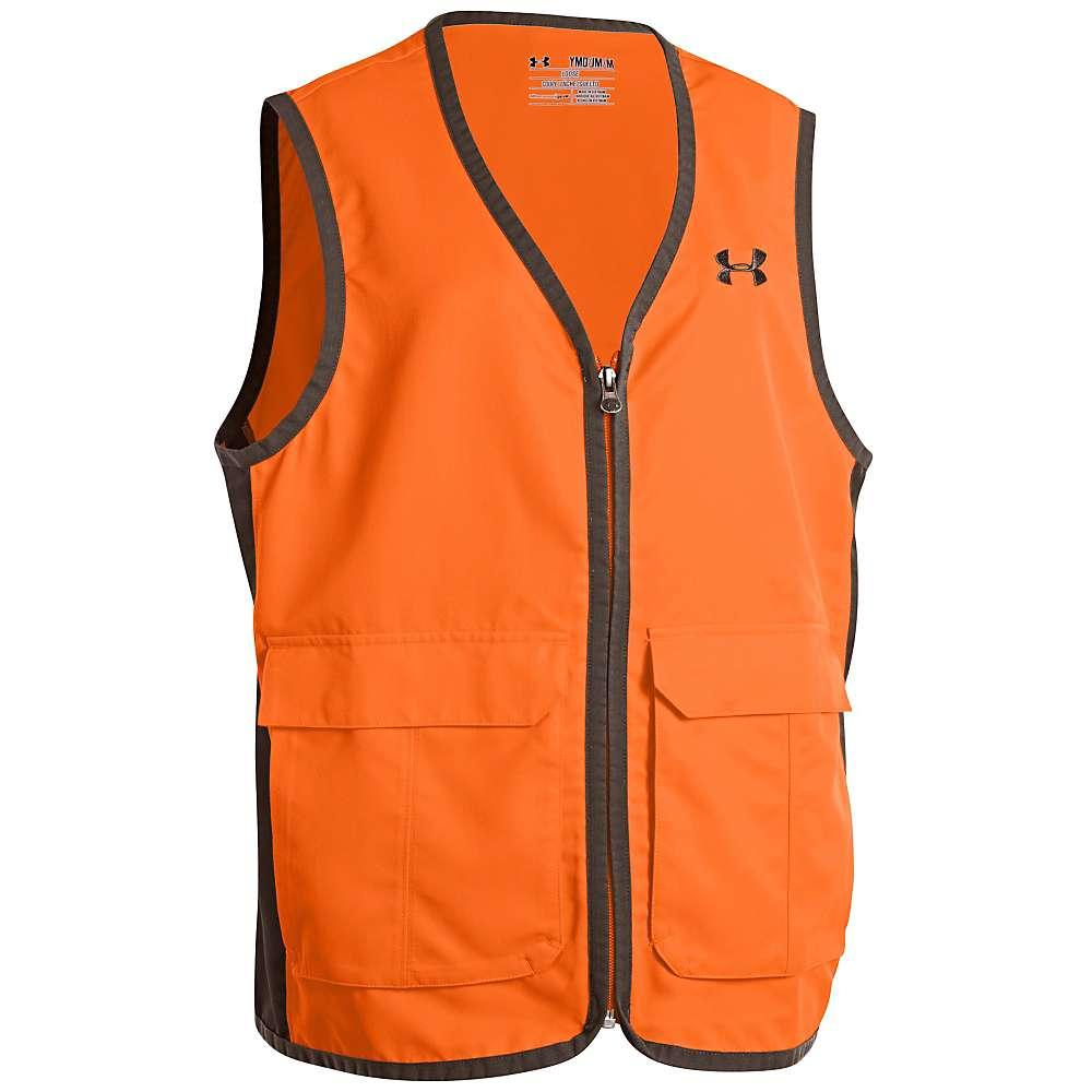Under Armour Boys' Blaze Antler Vest - Medium - Blaze Orange / Thyme