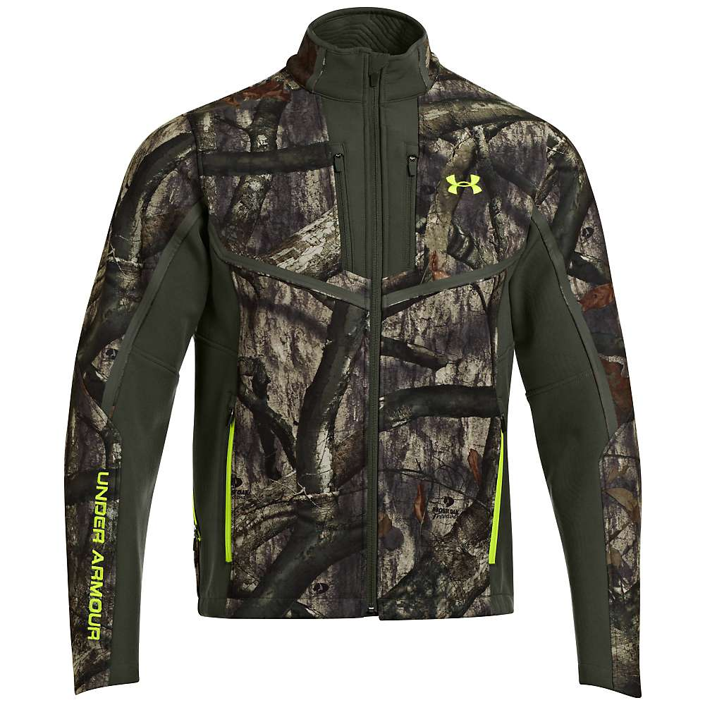 Under Armour Men's Coldgear Infrared Scent Control Speed Freek - Small - Mossy Oak Treesland / Velocity