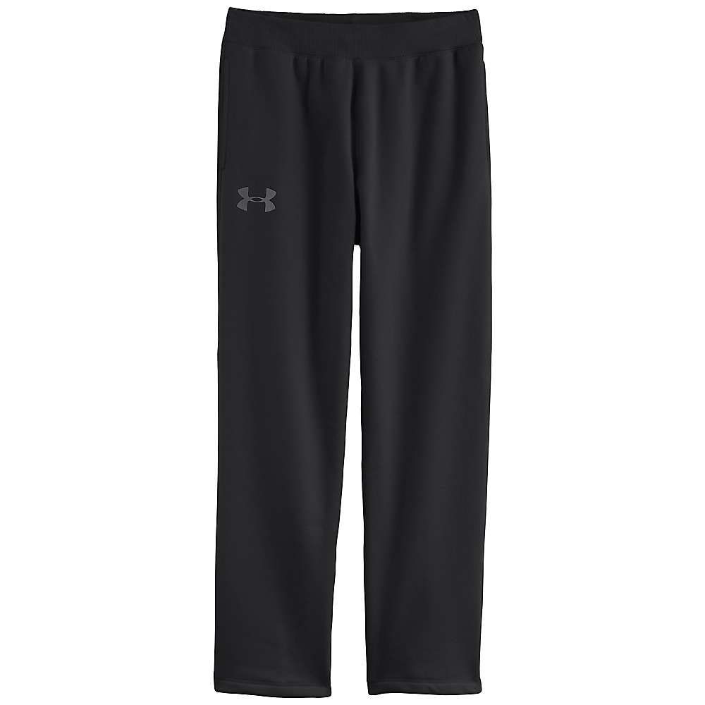 Under Armour Men's UA Rival Cotton Pant - Large - Black / Graphite
