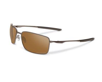 Oakley Square Wire Polarized Sunglasses - One Size - Tungsten / Tungsten Iridium Polarized