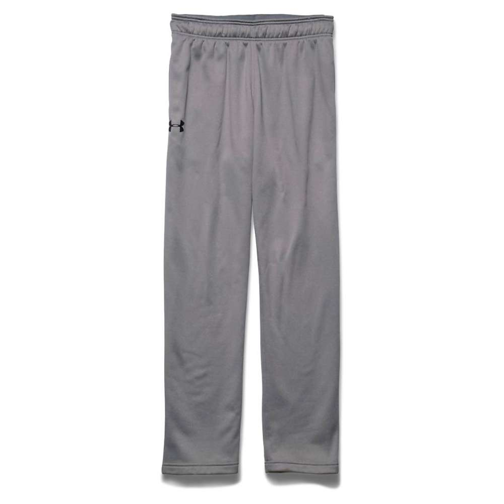 Under Armour Men's Lightweight Armour Fleece Pant - XL - True Gray Heather / Black / Black