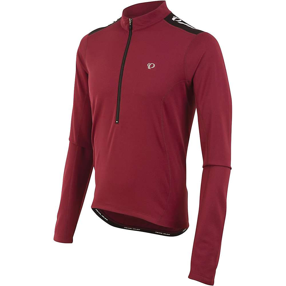 Pearl Izumi Men's Quest Long Sleeve Jersey - Small - Tibetan Red