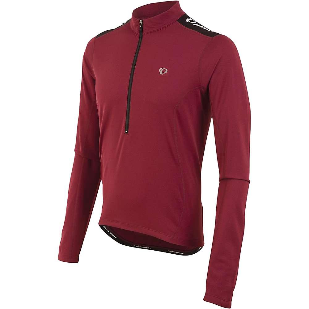 Pearl Izumi Men's Quest Long Sleeve Jersey - XL - Tibetan Red