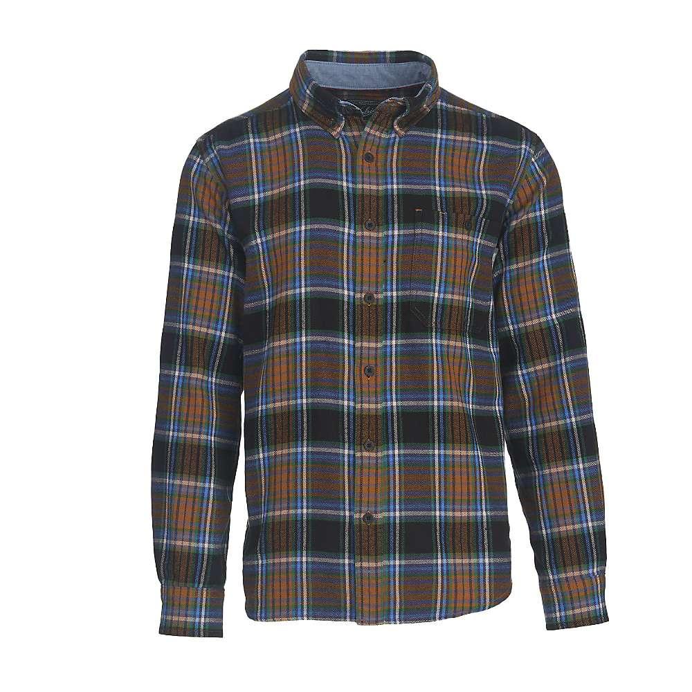 Woolrich Men's Trout Run Flannel Shirt - Large Long - Black Multi