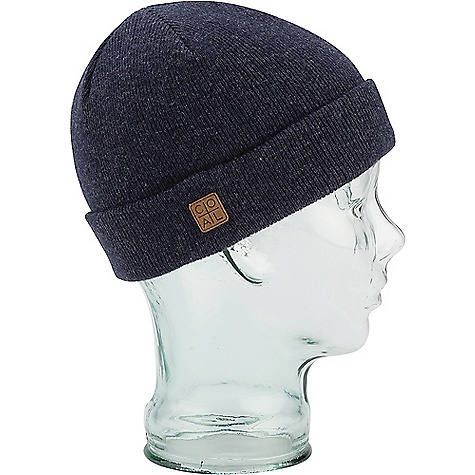 Coal The Harbor Beanie Heather Navy Coal The Harbor Beanie - Heather Navy - in stock now. FEATURES of the Coal The Harbor Beanie A traditional fine-knit beanie made versatile with two suede labels, wear classically cuffed or unrolled for oversized modern styling