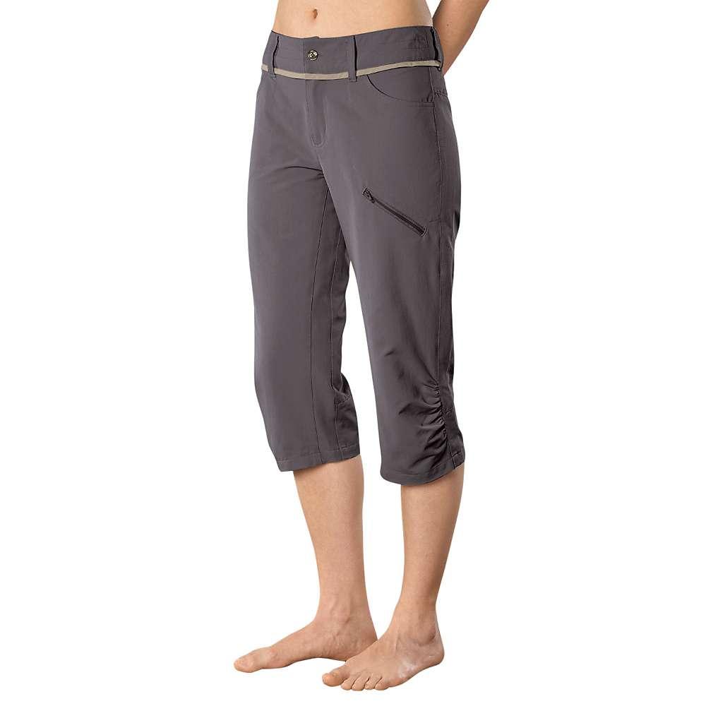 Stonewear Designs Women's Nomad Capri - 4 - Granite
