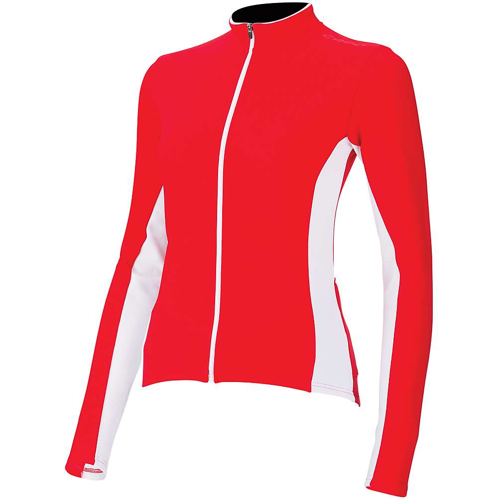 Capo Women's Siena Long Sleeve Jersey - Medium - Red