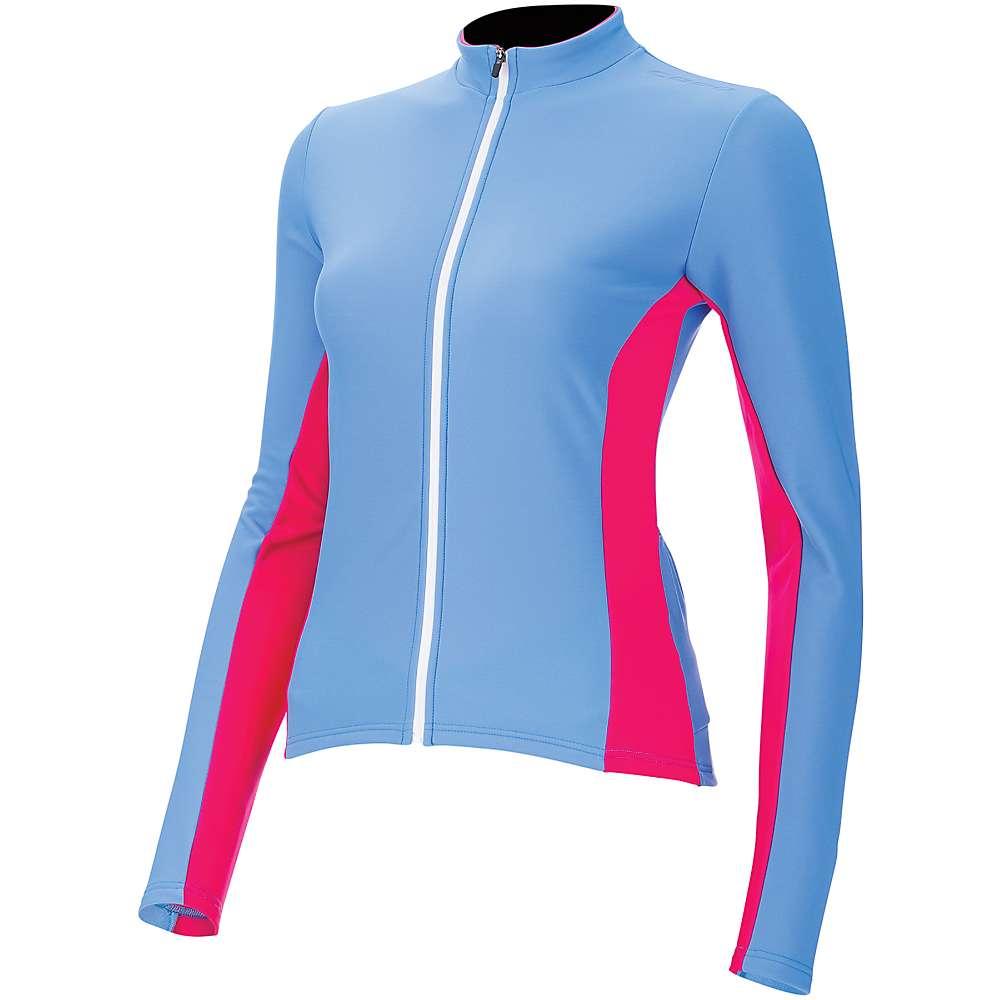 Capo Women's Siena Long Sleeve Jersey - Medium - Cyan