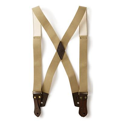 Filson Tab Suspenders - Long - Tan