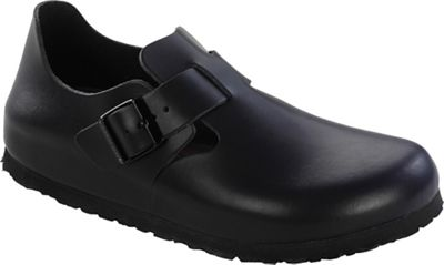 Birkenstock London Soft Footbed Shoe - Hunter Black Leather