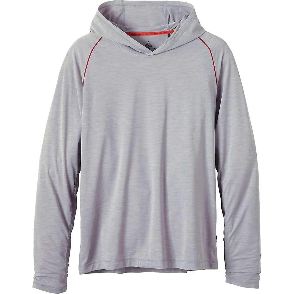 Prana Men's Calder LS Hoodie - XL - Grey