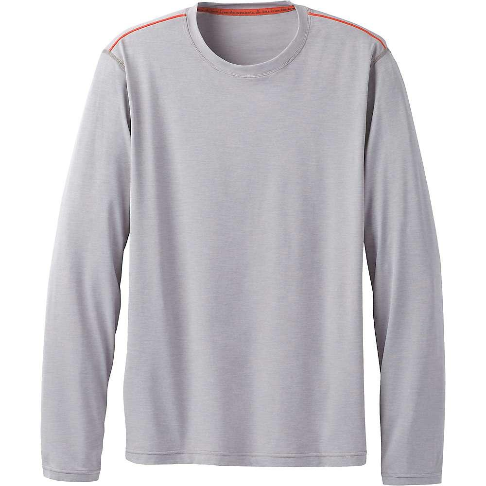 Prana Men's Calder LS Top - XXL - Grey