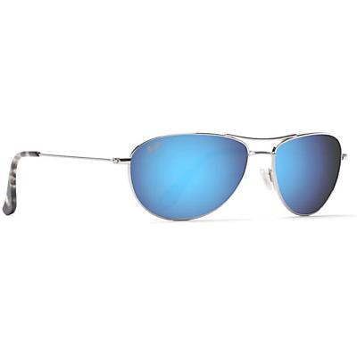 Maui Jim Baby Beach Polarized Sunglasses - Silver / Blue Hawaii Polarized