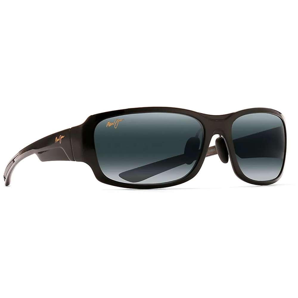 Maui Jim Bamboo Forest Polarized Sunglasses - One Size - Gloss Black Fade / Neutral Grey