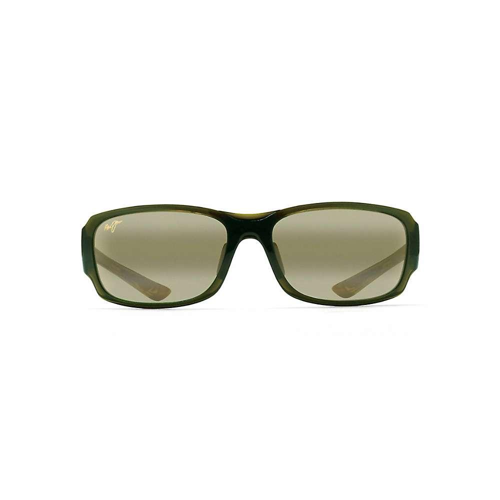 Maui Jim Bamboo Forest Polarized Sunglasses - One Size - Olive Fade / Maui HT