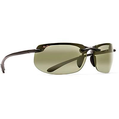 Maui Jim Banyans Polarized Sunglasses - Gloss Black / Maui HT