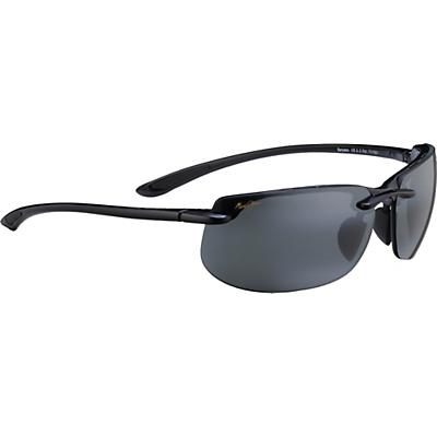 Maui Jim Banyans Polarized Sunglasses - Gloss Black / Neutral Grey