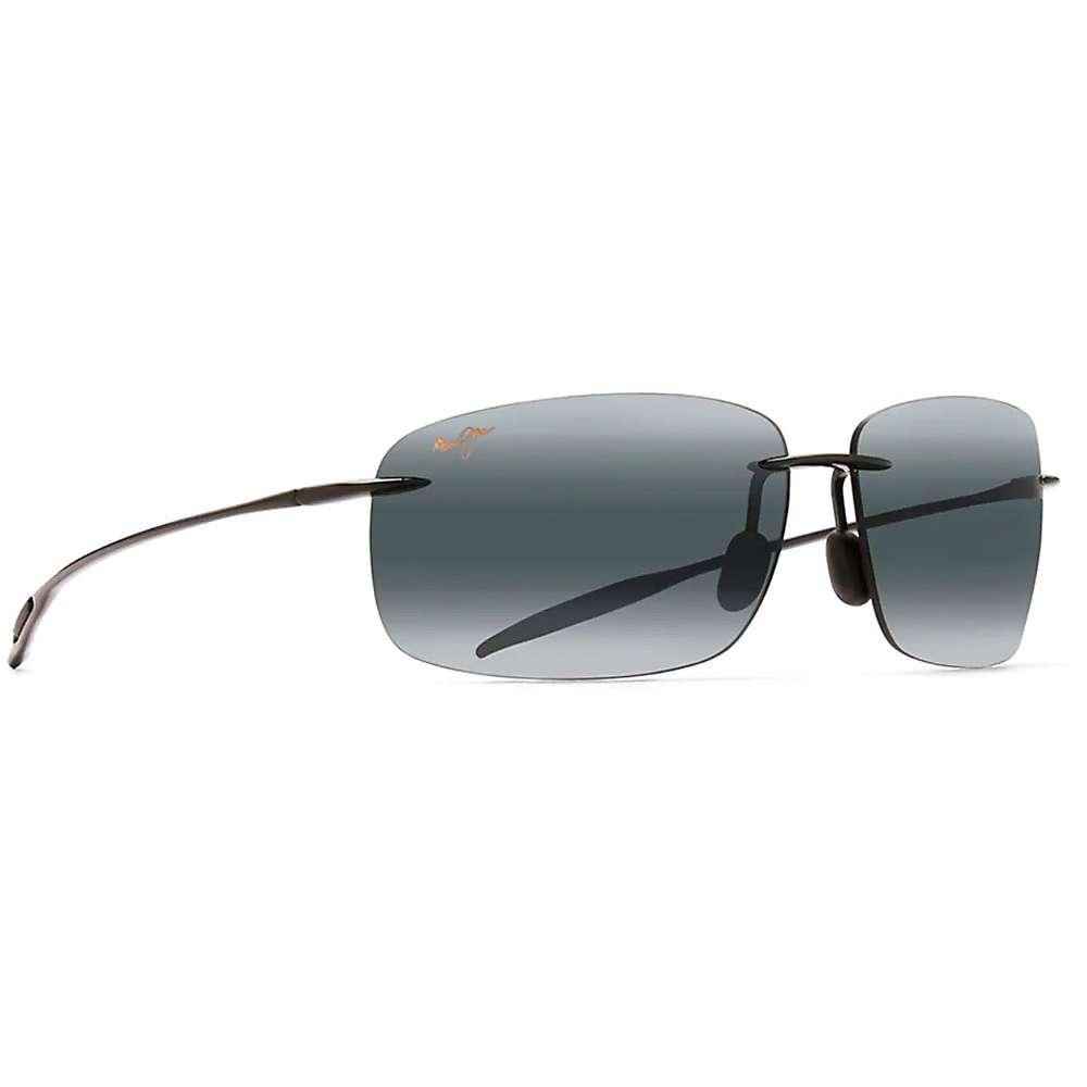Maui Jim Breakwall Polarized Sunglasses - One Size - Gloss Black / Neutral Grey