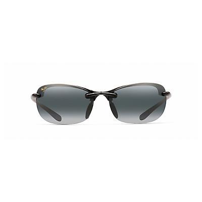 Maui Jim Hanalei Polarized Sunglasses - Gloss Black / Neutral Grey