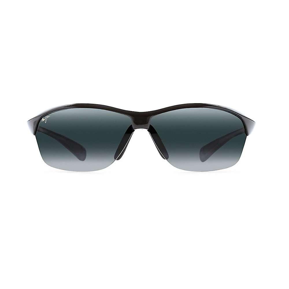 Maui Jim Hot Sands Polarized Sunglasses - One Size - Gloss Black / Neutral Grey