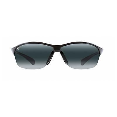 Maui Jim Hot Sands Polarized Sunglasses - Gloss Black / Neutral Grey