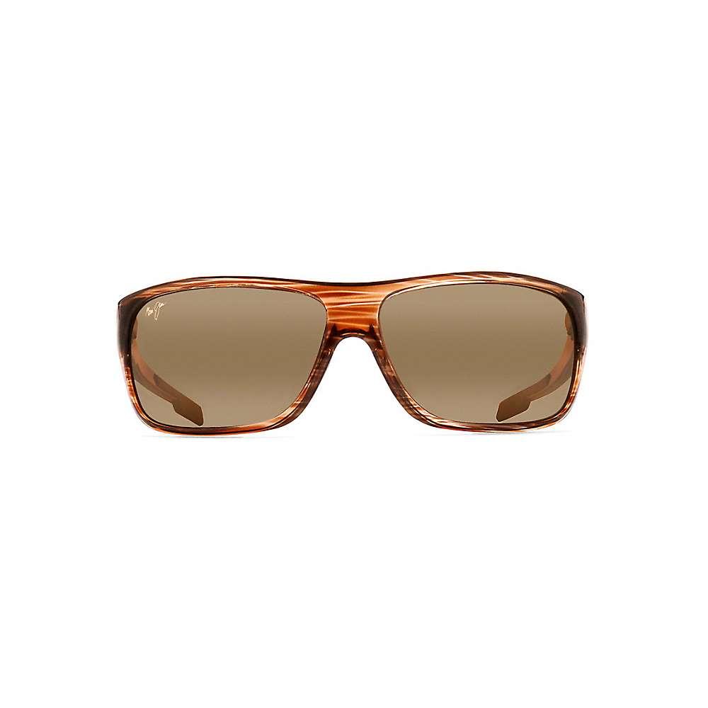 Maui Jim Island Time Polarized Sunglasses - One Size - Striped Rootbeer / HCL Bronze