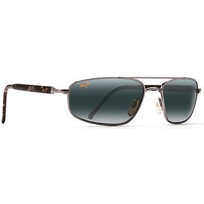 Maui Jim Kahuna Polarized Sunglasses - Gunmetal / Neutral Grey
