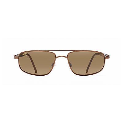 Maui Jim Kahuna Polarized Sunglasses - Metallic Gloss Copper / HCL Bronze