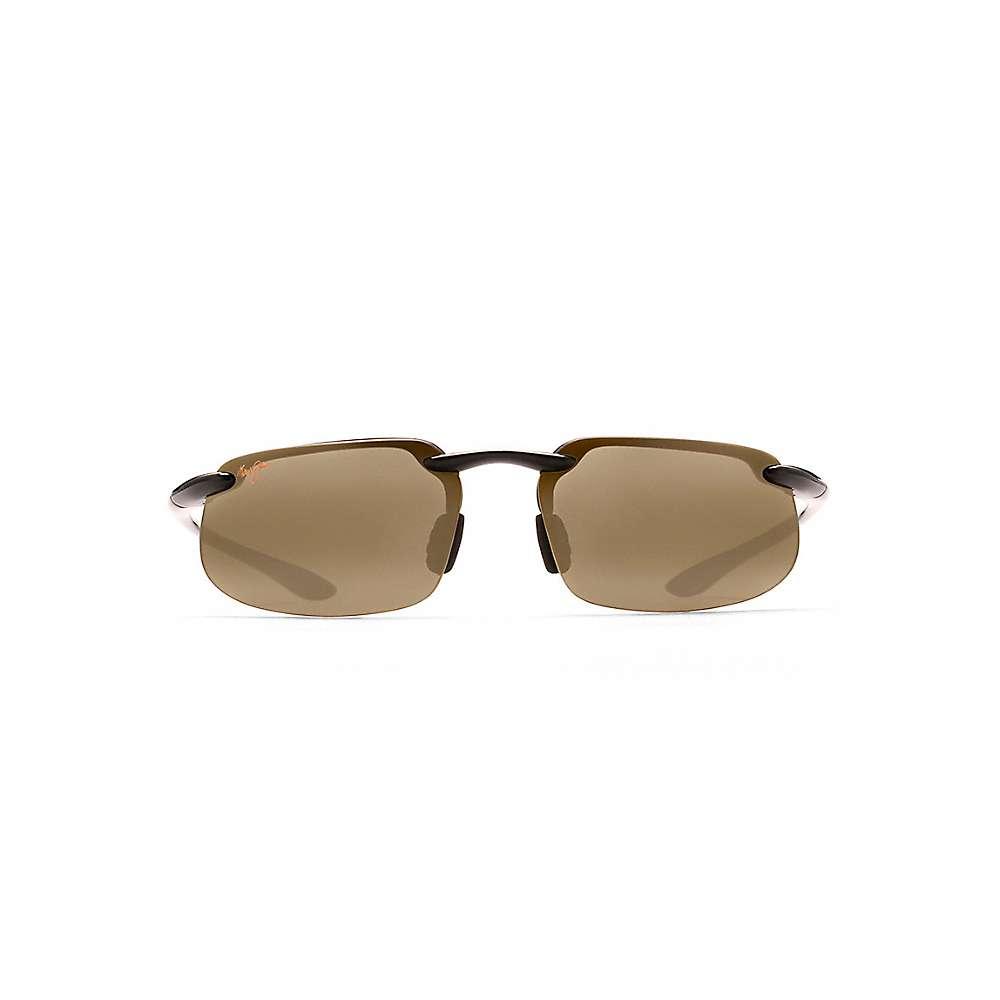 Maui Jim Kanaha Polarized Sunglasses - One Size - Gloss Black / HCL Bronze
