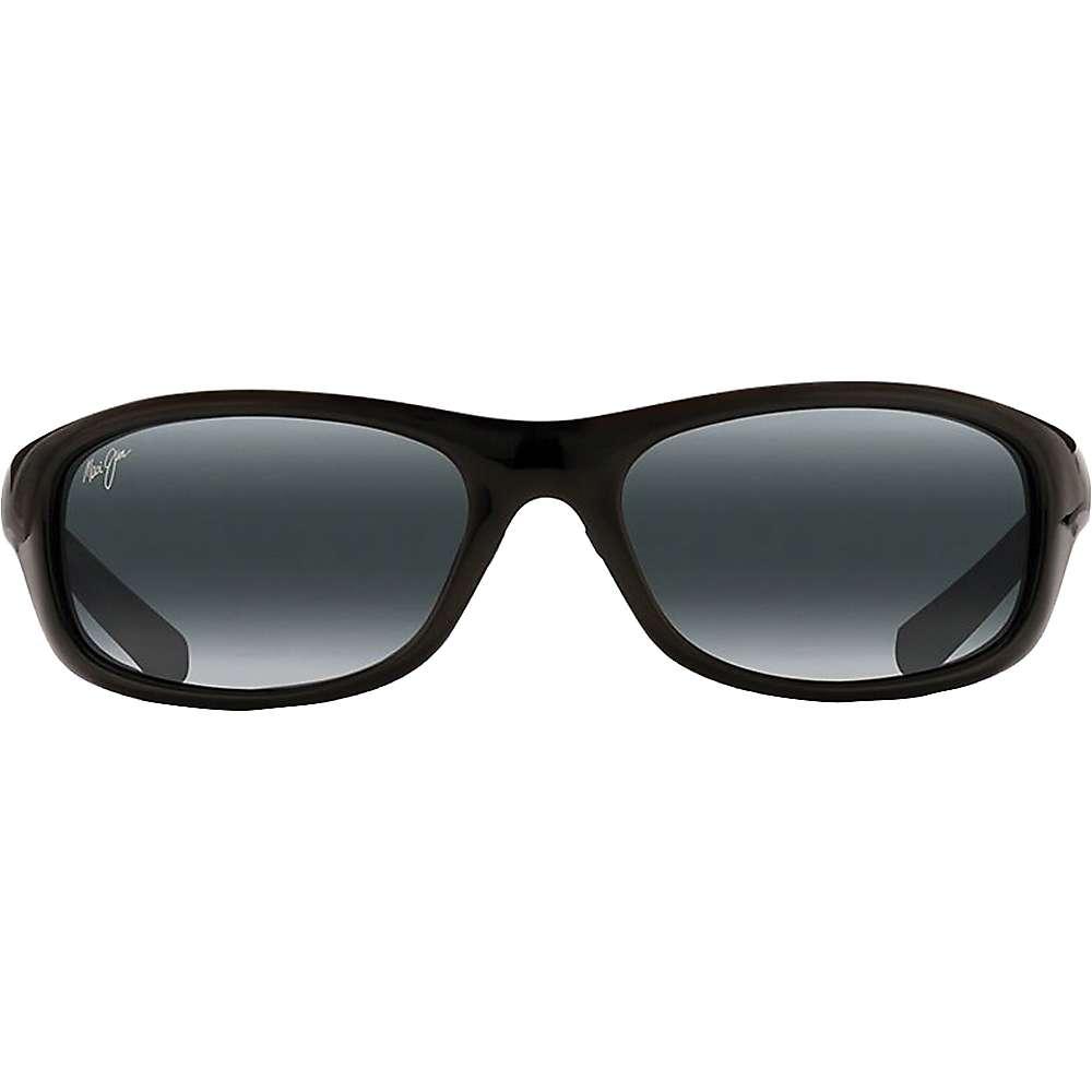 Maui Jim Kipahulu Polarized Sunglasses - One Size - Gloss Black / Neutral Grey