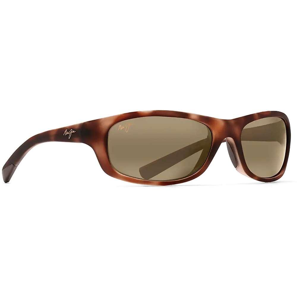 Maui Jim Kipahulu Polarized Sunglasses - One Size - Matte Tortoise Rubber / HCL Bronze