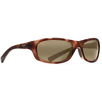Maui Jim Kipahulu Polarized Sunglasses - Matte Tortoise Rubber / HCL Bronze