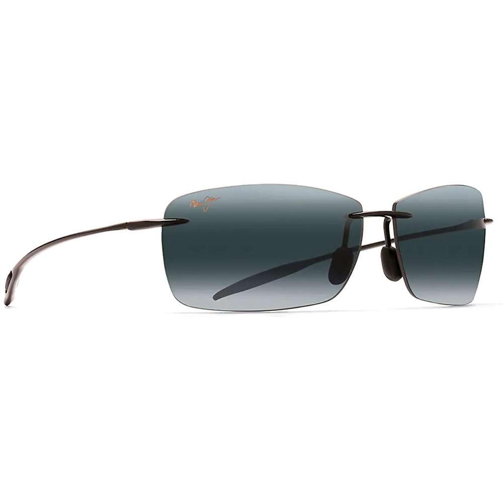 Maui Jim Lighthouse Polarized Sunglasses - One Size - Gloss Black / Neutral Grey