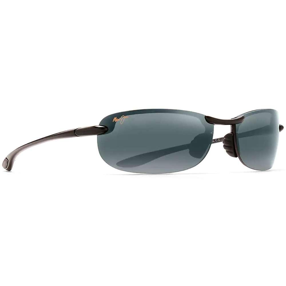 Maui Jim Makaha Polarized Sunglasses - One Size - Gloss Black / Neutral Grey