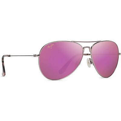 Maui Jim Mavericks Polarized Sunglasses - Rose Gold/Maui Sunrise