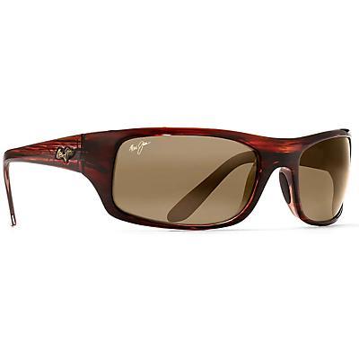 Maui Jim Peahi Polarized Sunglasses - Burgundy Tortoise / HCL Bronze