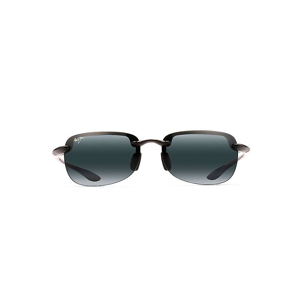 Maui Jim Sandy Beach Polarized Sunglasses - One Size - Gloss Black / Neutral Grey