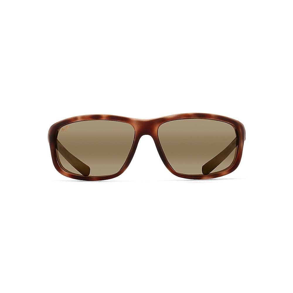 Maui Jim Spartan Reef Polarized Sunglasses - One Size - Matte Tortoise Rubber / HCL Bronze