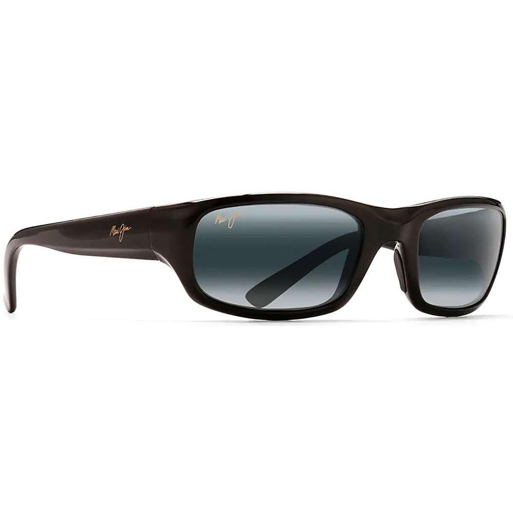 Maui Jim Stingray Polarized Sunglasses - One Size - Gloss Black / Neutral Grey